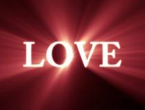 Shiny Love Royalty Free Stock Image