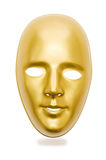 Shiny masks isolated Royalty Free Stock Images