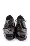 Shiny men's dressy shoes Stock Image