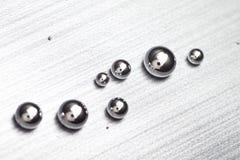 Shiny Mercury stock image