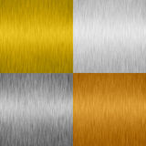 Shiny Metal background Stock Image