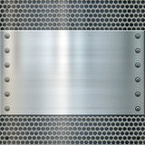 Shiny metal background texture Stock Photos