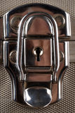 Shiny metal case lock Stock Photography
