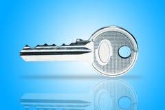 shiny metal Key Royalty Free Stock Photo