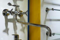 Shiny metal mixer Stock Photo