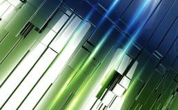 Shiny Metal Panels Backdrop Stock Photos