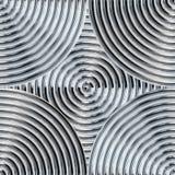 Shiny Metal Pattern Stock Photography