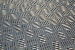 Shiny Metal Pattern. Bumpy metal pattern at angle stock image