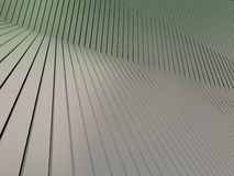Shiny metal plate. 3d render metalplate abstract background Royalty Free Stock Photo