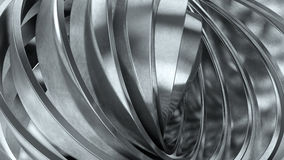 Shiny metal rings Stock Photo