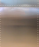 Shiny Metal Texture Background with Button and Line for Furniture Material or Room Interior Stock Image