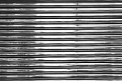 Shiny metal wall Stock Images