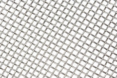 Shiny metal woven grid background Stock Photos