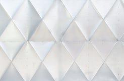 Shiny metalic door wall pattern texture block rhomb Royalty Free Stock Photography