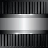 Shiny metallic background Stock Images