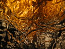 Shiny Metallic Fire Texture  Royalty Free Stock Images