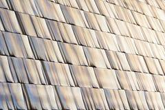 Shiny metallic textures Stock Photography