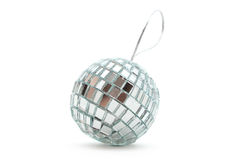 Shiny mirror Christmas ball Stock Photography
