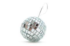 Shiny mirror Christmas ball Stock Photography