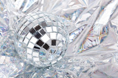 Shiny Mirrored disco balls Royalty Free Stock Images