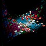 Shiny mosaic. Abstract geometric shiny mosaic, eps10  illustration Stock Photography