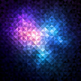 Shiny Mosaic Background Stock Photography