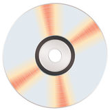 Shiny music cd Royalty Free Stock Photos