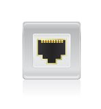 Shiny Network Port Icon Royalty Free Stock Photography