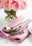 Shiny new cutlery, silverware Royalty Free Stock Image