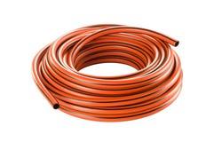 Shiny new gardening hose. Stock Images