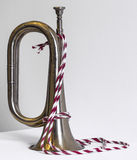 Shiny Old Trumpet Royalty Free Stock Image