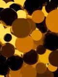 Shiny orange sphere background. Shiny orange sphere 3d abstract background Stock Images