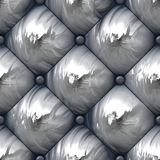 Shiny Padded Upholstery Pattern Royalty Free Stock Photos