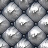 Shiny Padded Upholstery Pattern Royalty Free Stock Photos