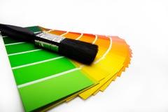 Shiny paintbrush royalty free stock images