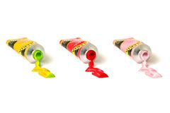Shiny Paints Stock Photos