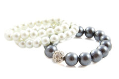Shiny pearls Royalty Free Stock Photo