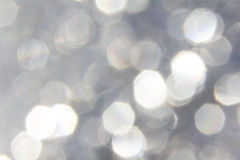 Shiny pentagonal spots of light. Abstract photo of shiny pentagonal spots of light Royalty Free Stock Images