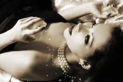 Shiny Perfumes Stock Photography
