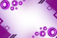 Shiny perple circle , abstract background Stock Images