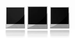 Shiny photo frames Stock Photo