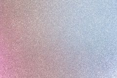Shiny pink and blue silver glitter. Abstract background filled with shiny silver and pink glitter stock photos