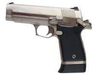 Shiny pistol Stock Photos