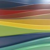 Shiny plastic layers Stock Photo