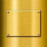 Shiny polished golden background Stock Photos