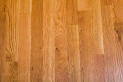 Shiny Polished Hardwood Floor Stock Images