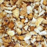 Shiny popcorn background Royalty Free Stock Image