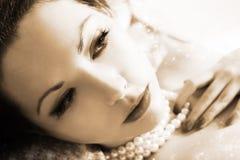 Shiny portrait Stock Images