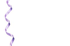 Shiny Purple Satin Ribbon Royalty Free Stock Images