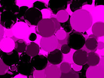 Shiny purple sphere background. Shiny purple sphere abstract background. 3D illustration Royalty Free Stock Photography